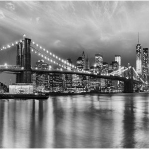 Фотообои Komar Brooklyn B/W 368 х 254см. (8-934) фотообои komar brooklyn bridge 368 х 127см 4 320