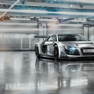 Фотообои Komar Audi R8 Le Mans 368 х 254см. (-957)