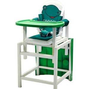 Стульчик для кормления Babys Froggy зеленый
