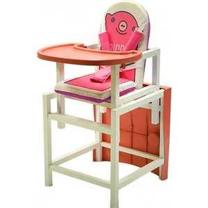 Стульчик для кормления Babys Piggy розовый