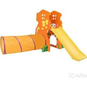 Игровой комплекс Ching-Ching Дом Дерево оранжевый (17-SL)