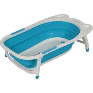 Фотография товара детская складная ванна Froebel белый/бирюзовый 8833 (433949)