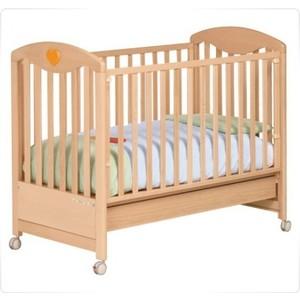 Кроватка Foppapedretti Cuore di Mamma автостенка/ колесо/ящик Noce - орех foppapedretti fred ginger fasciatoio