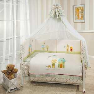 Комплект в кроватку 7 предметов Perina Глория Happy Days Г7-01.0 комплекты в кроватку happy family добрые сны мишка 5 предметов