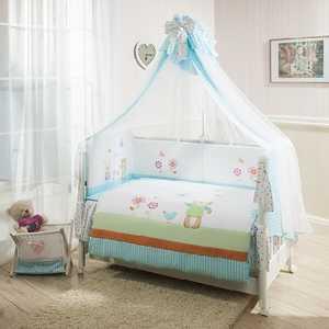 Комплект постельного белья Perina Глория Hello Голубой Г3-02.0
