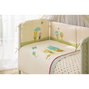 Комплект в кроватку 4 предмета Perina Глория Happy Day Молочный Г4-01.0