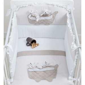 Комплект постельного белья PICCI Coffe белый D1231-02