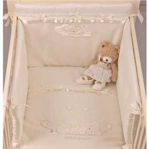 Комплект в кровать 4 предмета PICCI Mimmi кремовый D1730-09