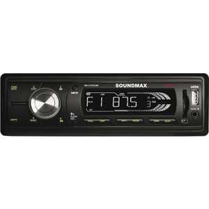 Автомагнитола Soundmax SM-CCR3048F автомагнитола soundmax sm ccr3048f бездисковая usb mp3 fm sd mmc 1din 4x45вт черный
