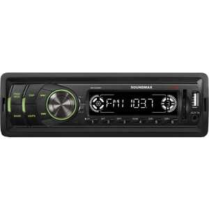 Автомагнитола Soundmax SM-CCR3050F автомагнитола usb sd soundmax sm ccr3056f