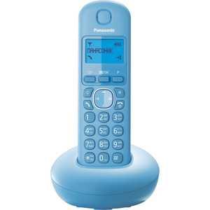 Радиотелефон Panasonic KX-TGB210RUF проводной телефон panasonic kx ts2363 белый kx ts2363ruw