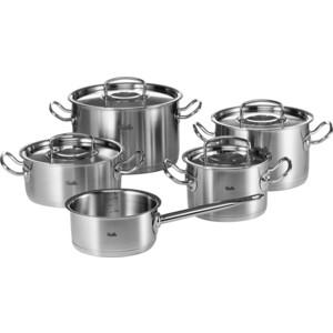 Набор посуды Fissler 8413605 кастрюля interos 15231 маслины 5 7 л углеродистая сталь