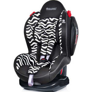 Автокресло Welldon Smart Sport Side Armor and Cuddle Me Zebra BS02N-SCE2(2801-4461-2401)