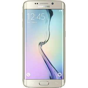 Смартфон Samsung Galaxy S6 Edge 128Gb Gold (SM-G925FZDFSER)