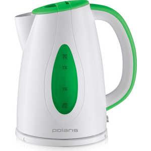 Чайник электрический Polaris PWK 1752C, зеленый/белый часы fashion quartz женские