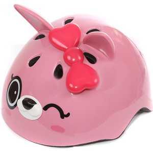 Шлем детский REXCO 3D Кошечка Пиччи розовый HPG015