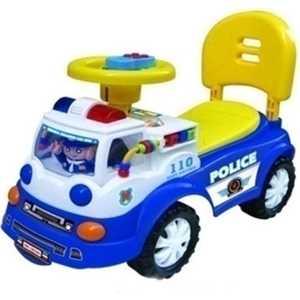 Каталка TOYSMAX Police синяя 3656