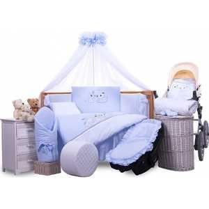 Комплект в кровать Tuttolina 6 предметов My Friends голубой 6HD/92 printio чехол для iphone 6 plus глянцевый