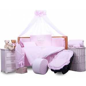 Комплект в кровать Tuttolina 6 предметов Princess розовый 6HD/95