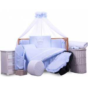 Комплект в кровать Tuttolina 6 предметов Princess голубой 6HD/96 advesta детская комната advesta princess 6 предметов