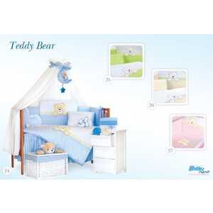 Комплект постельного белья Tuttolina 3 предмета Teddy Bear бежевый 3HD/26