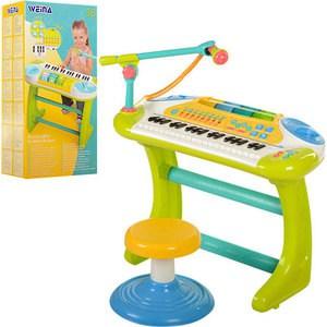 цены Игрушка WEINA Пианино со стулом 2079