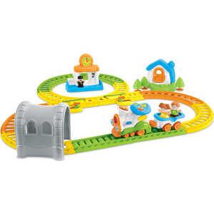 Развивающая игрушка WEINA музыкальная Железная дорога 2115 taxi 2115