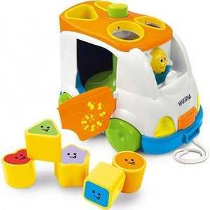 Развивающая игрушка WEINA музыкальный сортер Микроавтобус 2071 как и где купить микроавтобус