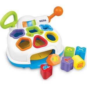 Развивающая игрушка WEINA музыкальный Сортер-разбрасыватель 2002 музыкальный инструмент детский weina weina детский синтезатор со стульчиком