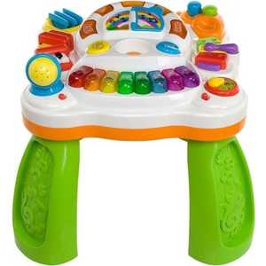 Развивающий столик WEINA музыкальный Веселый оркестр 2в1 2092 музыкальный инструмент детский weina weina детский синтезатор со стульчиком