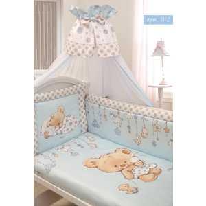 Комплект в кровать Золотой гусь 7 предметов Мика сатин голубой 1112 мика варбулайнен призрак записки библиотекаря фантасмагория