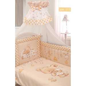Комплект в кровать Золотой гусь 7 предметов Мика сатин молочный 1113 мика варбулайнен призрак записки библиотекаря фантасмагория