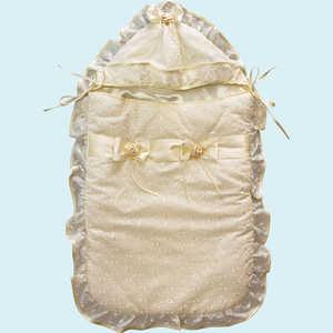 Конверт на выписку Золотой гусь Мечта молочный 6173 конверт детский золотой гусь конверт трансформер на овчине кокон молочный