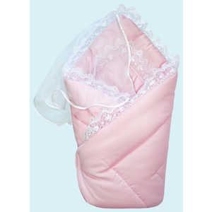 комплекты на выписку Конверт-одеяло Золотой гусь на выписку сатин жакард розовый 20026