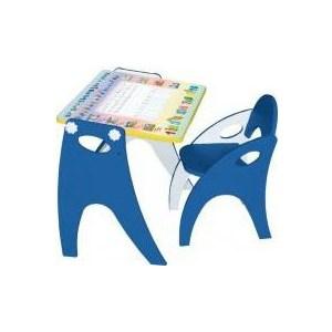 Набор мебели Интехпроект День-ночь парта-мольберт стульчик голубой 14-367 футболка lin show 367