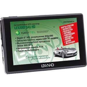 GPS навигатор Lexand SA5 HD lexand a1 basic black