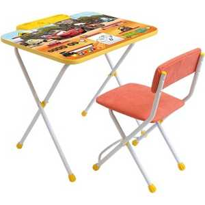 Набор мебели Ника Тачки Д2T столы и стулья ника набор мебели фиксики