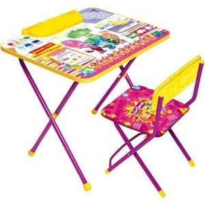 Набор мебели Ника Фиксики Знайка Ф13 столы и стулья ника набор мебели фиксики