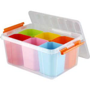 Фотография товара ящик для игрушек Полимербыт Профи Kids 15л 50803 (436988)