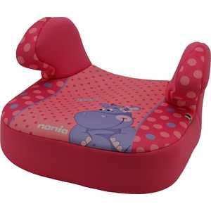 Бустер Nania Dream Animals Hippo Fishia розовый 247135