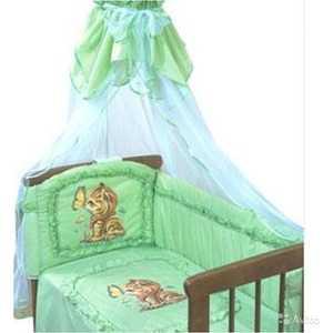 Бортик в кроватку Золотой гусь Аленка зеленый 4014 набор для творчества diy резиночки для плетения слоник