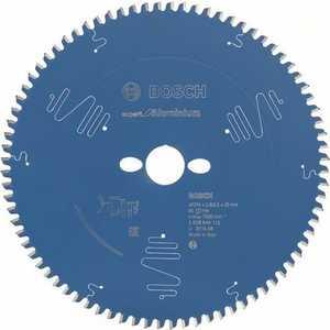 Диск пильный Bosch 254х30мм 80зубьев Expert for Aluminium (2.608.644.112)  коническое шлифкольцо 30 мм зерно 80 bosch 1600a00157