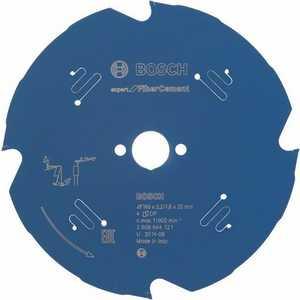 Диск пильный Bosch 160х20мм 4зуба Expert for Fiber Cement (2.608.644.121) диск пильный bosch expert for multimaterial 2608642528