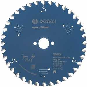 Диск пильный Bosch 160х20мм 36зубьев Expert for Wood (2.608.644.014)  пильный диск bosch 160х20мм 2608641800