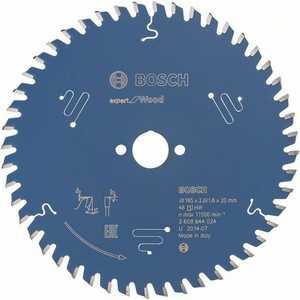 Диск пильный Bosch 165х20мм 48зубьев Expert for Wood (2.608.644.024) диск пильный bosch expert for multimaterial 2608642528