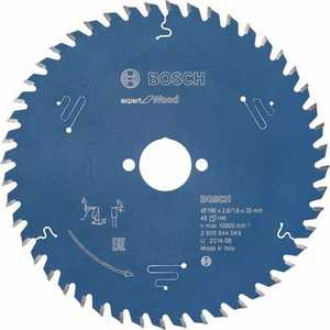 Диск пильный Bosch 190х30мм 48зубьев Expert for Wood (2.608.644.049) диск пильный bosch expert for multimaterial 2608642528