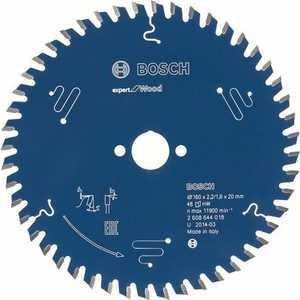Диск пильный Bosch 190х30мм 56зубьев Expert for Wood (2.608.644.050)