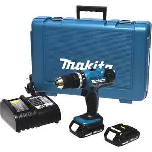 Аккумуляторная дрель-шуруповерт Makita DHP453SYE цены
