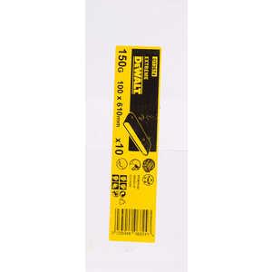 Фотография товара лента шлифовальная DeWALT 610х100мм 150G 10шт (DT 3674) (438859)