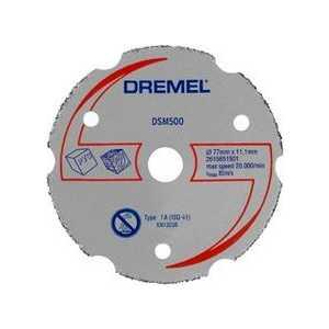 Фотография товара отрезной круг Dremel 20мм многофункциональный для DSM20 (DSM500) (2615S500JA) (439115)